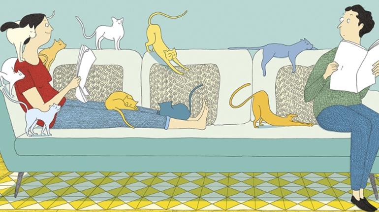 Vide-Grenier, scritto da Davide Cali e illustrato da Marie Dorléans | Sarbacane (2014)