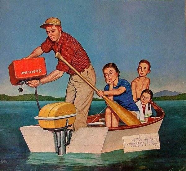 illustrazione anni 50-60