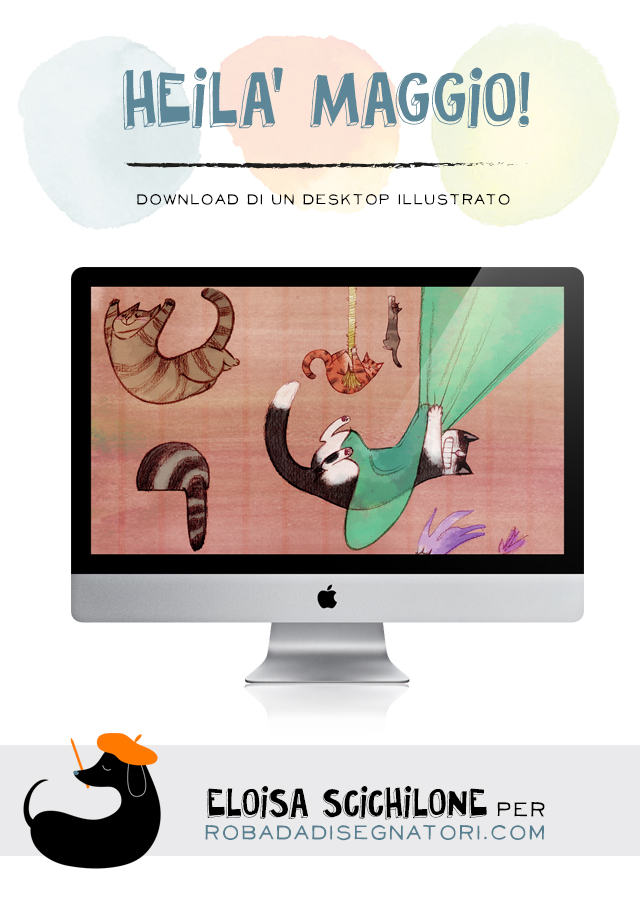 Se ti piace questo desktop, condividilo su Pinterest!