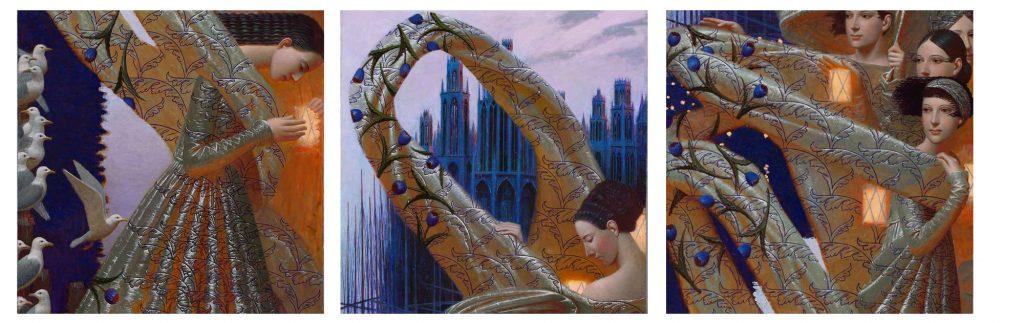 """""""Dune"""" un trittico molto celebre di Remnev. Cliccare sull'immagine per i dettagli"""